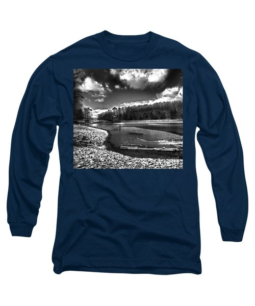 Long Sleeve T-Shirt featuring the photograph To Grand Mother's House by Robert McCubbin