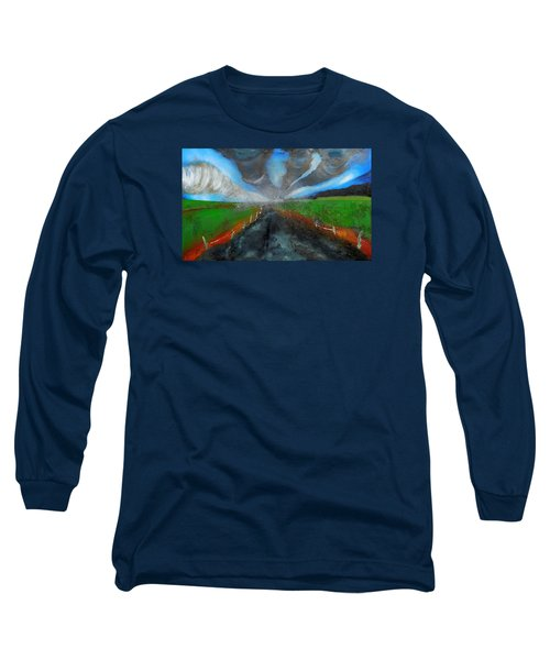 Tornadoes Long Sleeve T-Shirt by Raymond Perez
