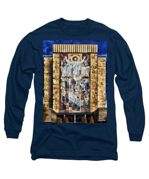 Touchdown Jesus Long Sleeve T-Shirt by Mountain Dreams