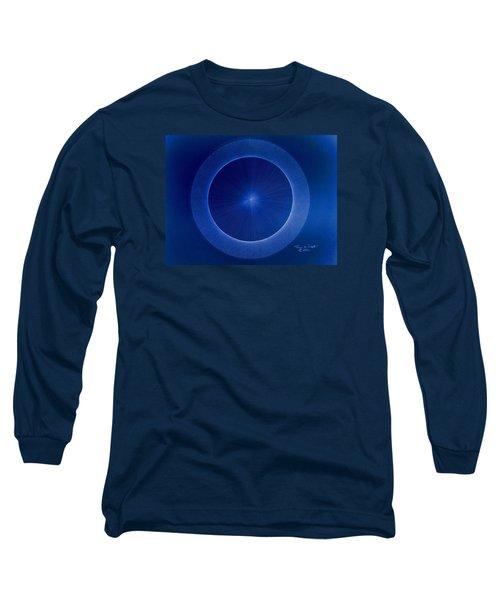 Towards Pi 3.141552779 Hand Drawn Long Sleeve T-Shirt by Jason Padgett