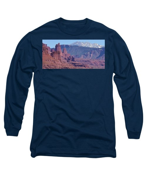 Towering Rockformations Long Sleeve T-Shirt by Bruce Bley