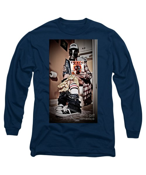 Toxic Bathroom Time Long Sleeve T-Shirt