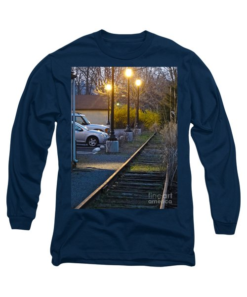 Tracks At Dusk Long Sleeve T-Shirt