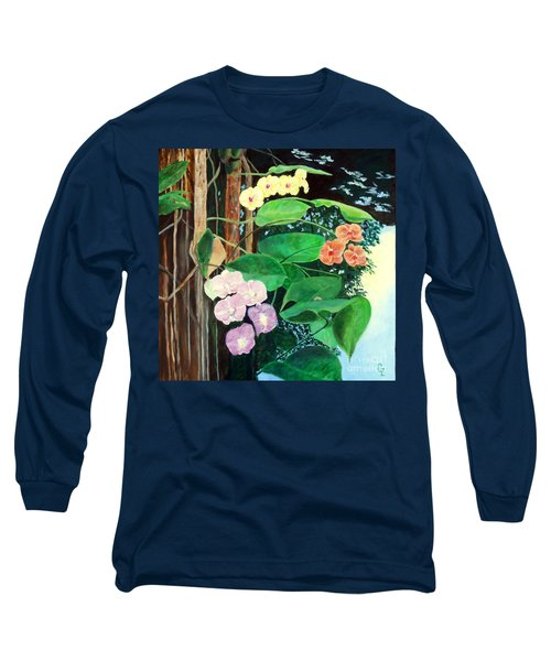 Tree Orchids Long Sleeve T-Shirt