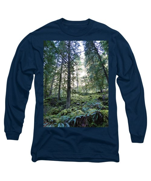Treequility Long Sleeve T-Shirt by Athena Mckinzie