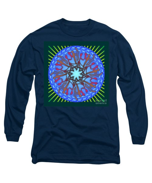 Tribal Hunt And Blessing Long Sleeve T-Shirt