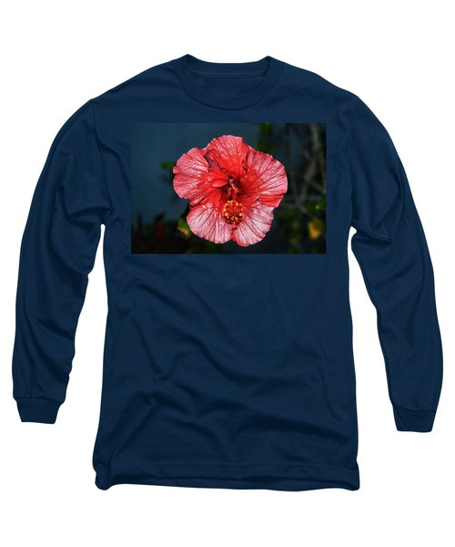 Tropical Burst Subdued Long Sleeve T-Shirt
