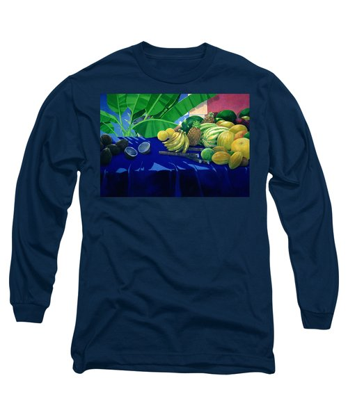Tropical Fruit Long Sleeve T-Shirt
