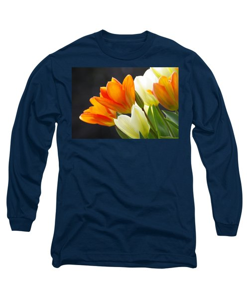 Long Sleeve T-Shirt featuring the photograph Tulips by Marilyn Wilson