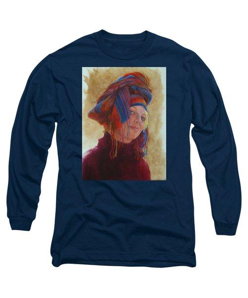Turban 2 Long Sleeve T-Shirt by Connie Schaertl