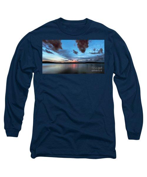 Twilight On Lake Lanier Long Sleeve T-Shirt