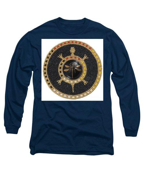 Twilight Dragonfly Long Sleeve T-Shirt