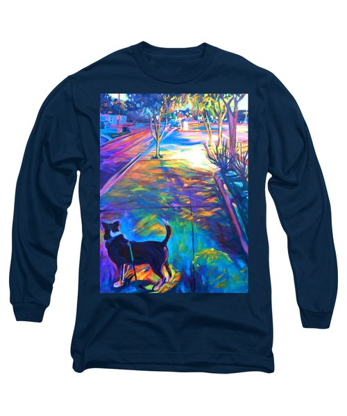 Scout At Twilight Long Sleeve T-Shirt by Bonnie Lambert