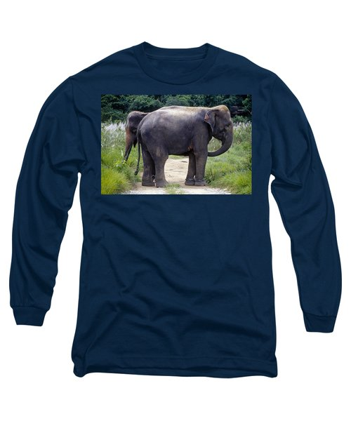 Two Elephants Long Sleeve T-Shirt