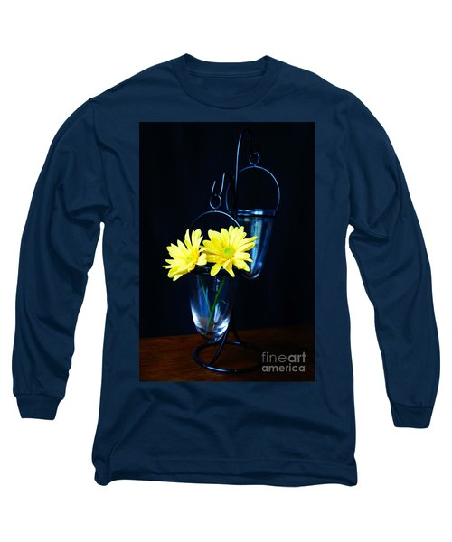 Two Yellow Daisies Long Sleeve T-Shirt