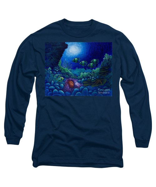 Undersea Creatures Iv Long Sleeve T-Shirt