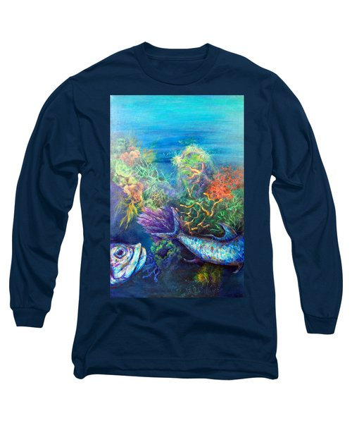 Jesus Reef  Long Sleeve T-Shirt