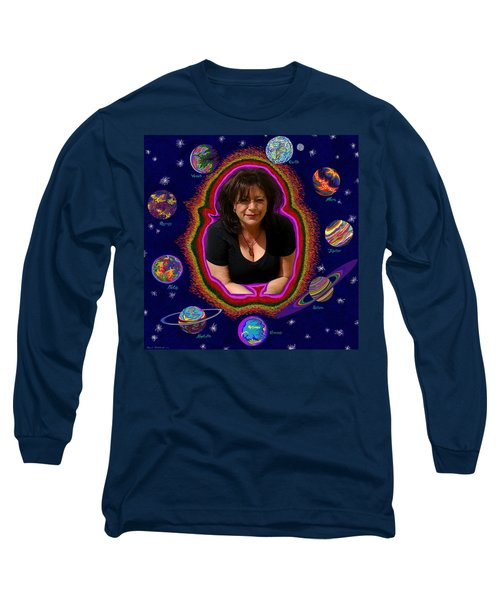 United Planets Of Mona Robin Long Sleeve T-Shirt