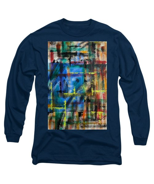 Blue Wall Long Sleeve T-Shirt