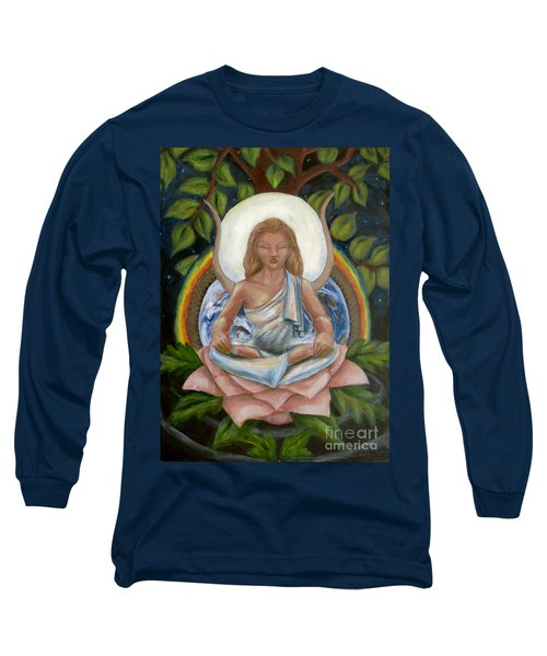 Universal Goddess Long Sleeve T-Shirt by Samantha Geernaert