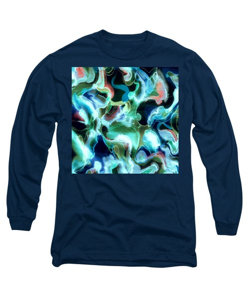 Lets Swim To The Moon Long Sleeve T-Shirt