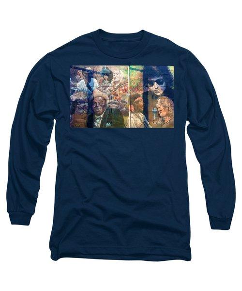 Urban Graffiti 3 Long Sleeve T-Shirt by Janice Westerberg