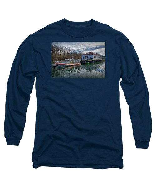 Usgs Castle Hill Station Long Sleeve T-Shirt