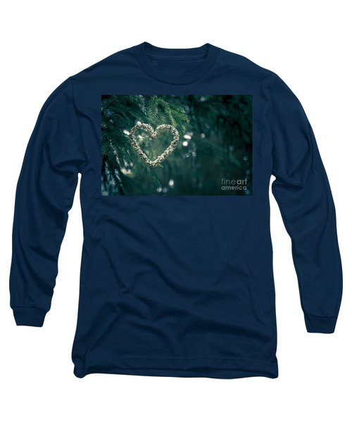 Valentine's Day In Nature Long Sleeve T-Shirt by Andreas Levi