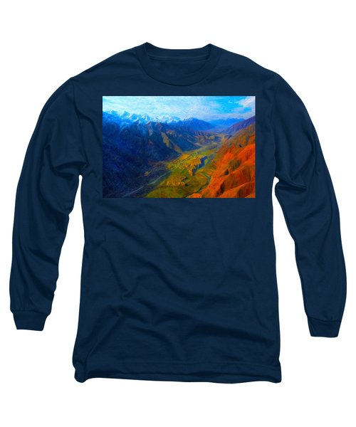Valley Shadows Long Sleeve T-Shirt