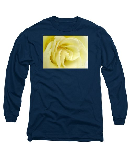 Vanilla Swirl Long Sleeve T-Shirt