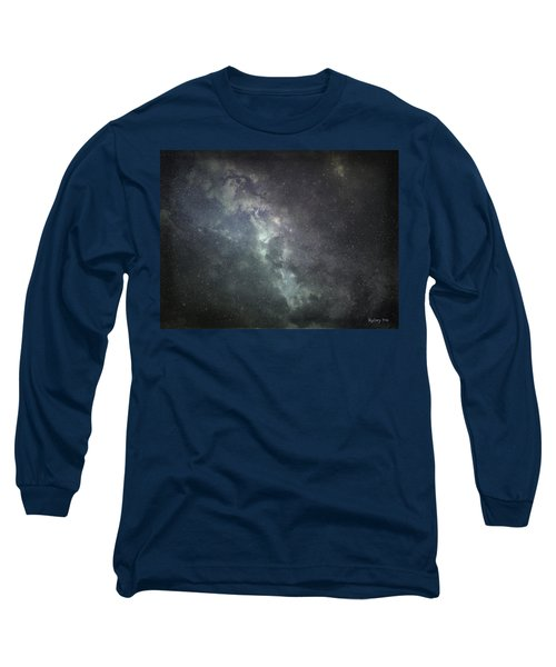 Vast Universe Long Sleeve T-Shirt by Cynthia Lassiter