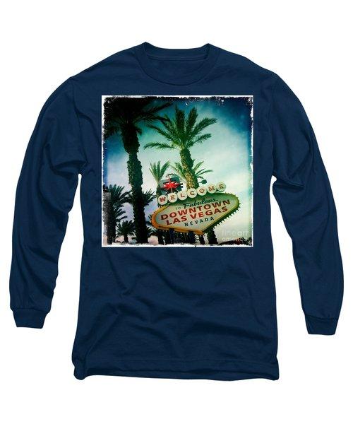 Vegas Long Sleeve T-Shirt by Nina Prommer