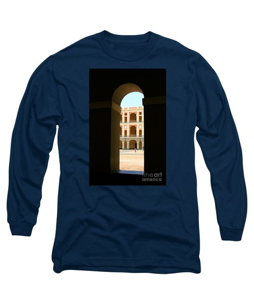Ventana De Arco Long Sleeve T-Shirt by The Art of Alice Terrill
