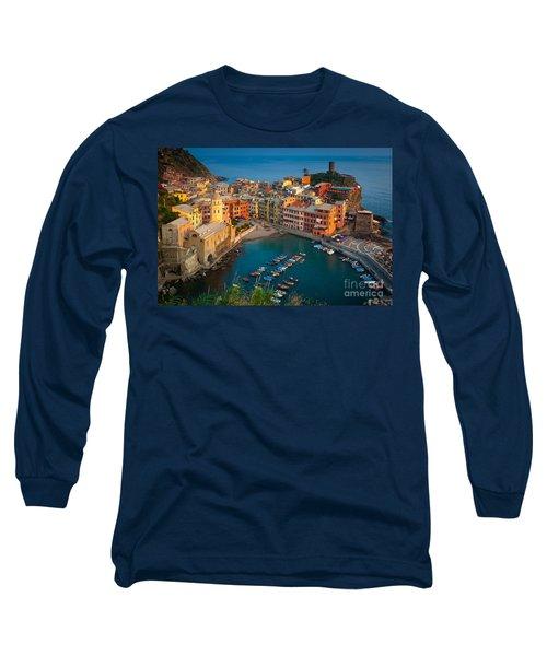 Vernazza Pomeriggio Long Sleeve T-Shirt