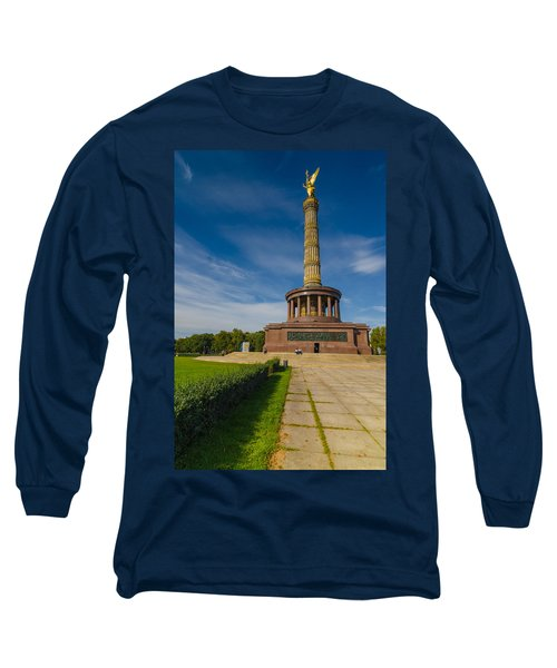 Victory Column Long Sleeve T-Shirt by Jonah  Anderson