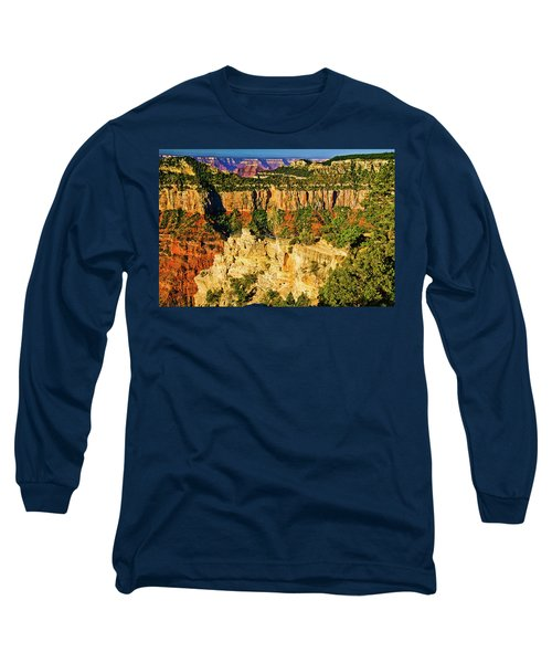 Long Sleeve T-Shirt featuring the photograph View From Angel Point  by Bob and Nadine Johnston