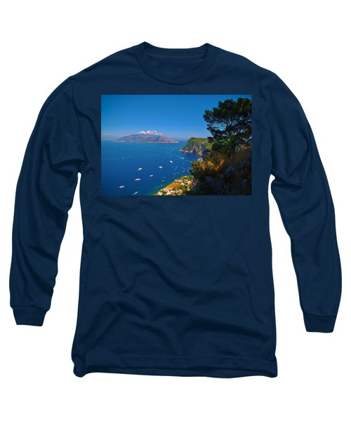 View From Capri Long Sleeve T-Shirt
