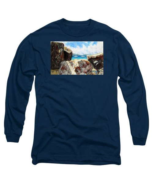 View Of Devil's Bay Long Sleeve T-Shirt