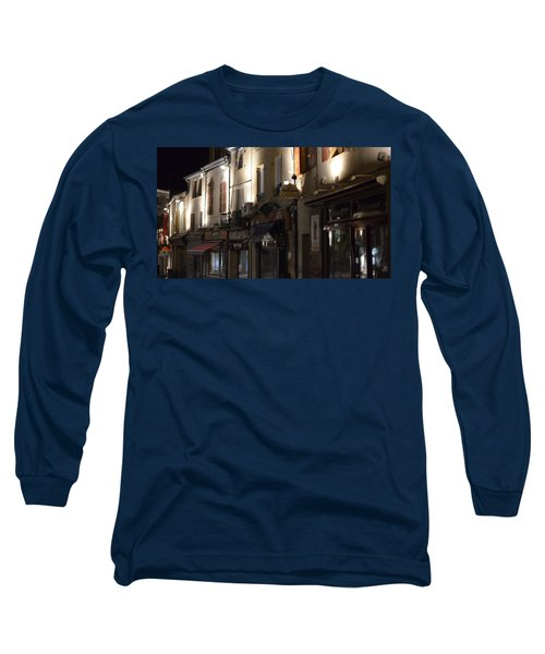 Village Nightscape Long Sleeve T-Shirt