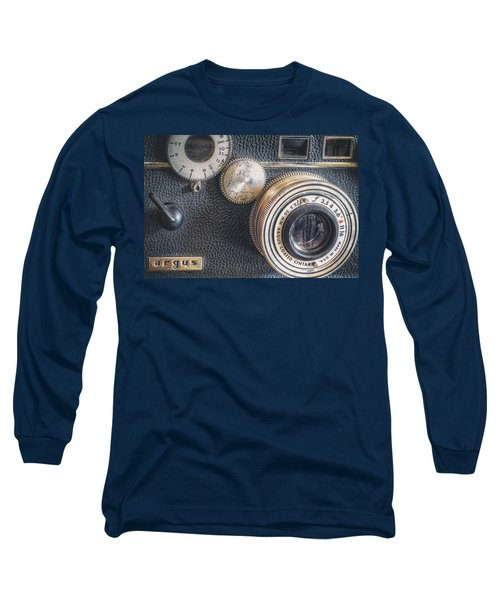 Vintage Argus C3 35mm Film Camera Long Sleeve T-Shirt