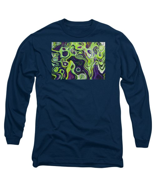Violeta E Verde Long Sleeve T-Shirt