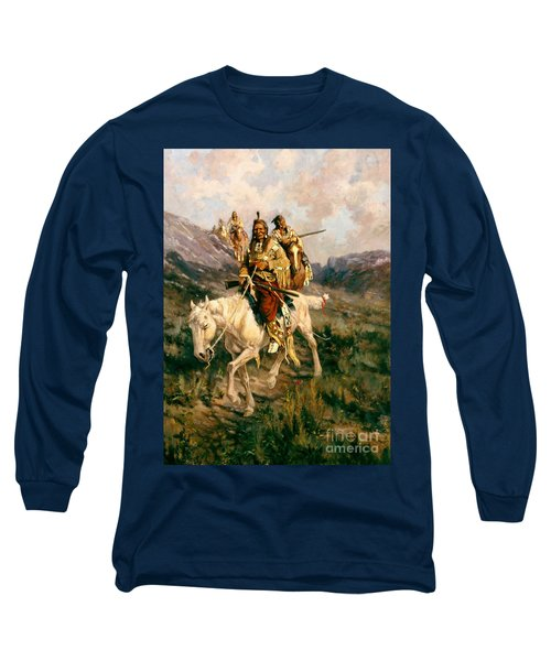 Visit To Another Tribe Long Sleeve T-Shirt