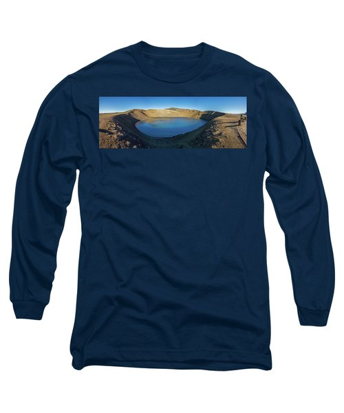 Viti, A Huge Explosion Crater, Northern Long Sleeve T-Shirt