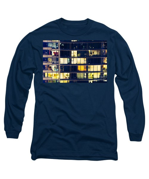 Voyeuristic Pleasure Cdlxxxviii Long Sleeve T-Shirt by Amyn Nasser