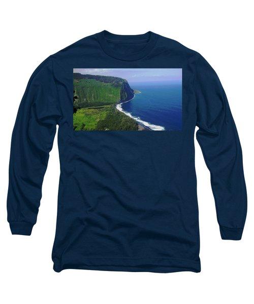 Waipio Valley Long Sleeve T-Shirt by Pamela Walton