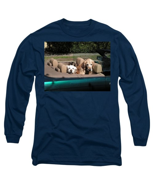 Waiting Patiently Long Sleeve T-Shirt by Cheryl Hoyle