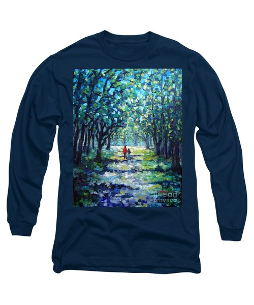 Walking In The Park Long Sleeve T-Shirt