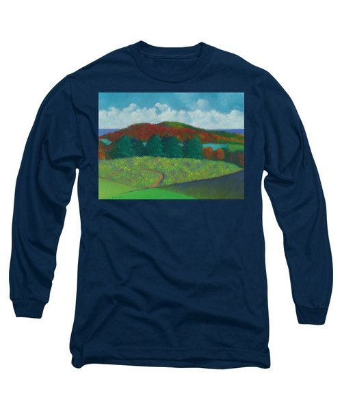 Walking Meditation Long Sleeve T-Shirt