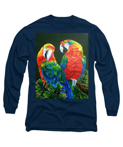 Wanna Know A Secret Long Sleeve T-Shirt by Sherry Shipley