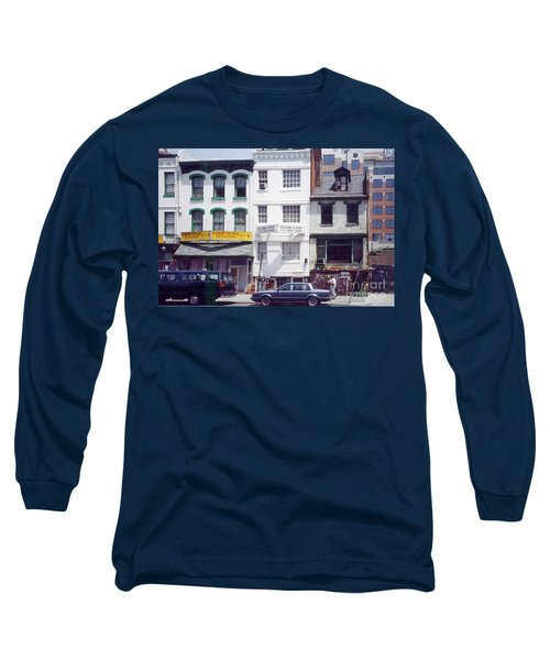 Washington Chinatown In The 1980s Long Sleeve T-Shirt